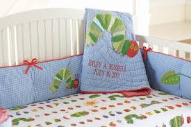 Hungry Caterpillar Nursery Decor Customizable Hungry Caterpillar Crib Bedding Child Mode