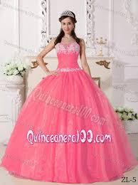 quincea eras dresses watermelon taffeta and organza appliques quinceanera dresses