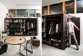 hidden room living cube an all in one storage solution with a bed and hidden