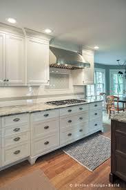 white shaker kitchen cabinets wood floors boston dover transitional kitchen design center
