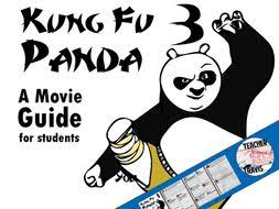 kung fu panda 3 movie guide travis82 teaching resources tes