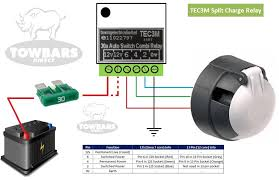 self switching smart relay for 12s 13 pin towbar wiring charging