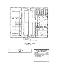 figure 3 33 typical electrical plan