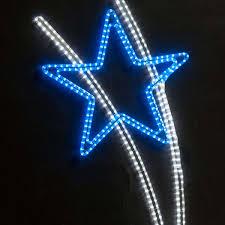 led shooting star lights shooting star silhouette with led light 1 7m