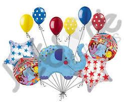 circus balloon circus elephant happy birthday balloon bouquet jeckaroonie balloons