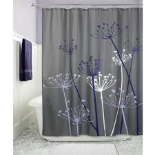 Bed Bath And Beyond Tree Shower Curtain Amazon Com Interdesign Thistle Fabric Shower Curtain 72 X 72