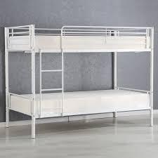 twin bed frame metal costway rakuten costway metal twin over twin bunk beds frame