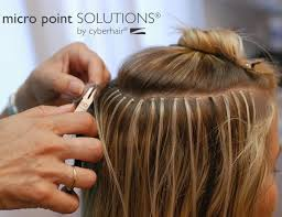 long hair that comes to a point micro point accents genesis hair solutions