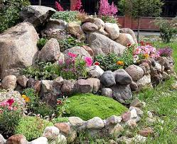 impressive design ideas garden rocks simple how to use rocks in
