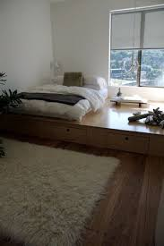 Raised Platform Bed Frame I How This Is Not Really A Bedframe It Becomes A Whole New