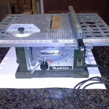 makita portable table saw find more makita portable table saw model 2708 runs well good