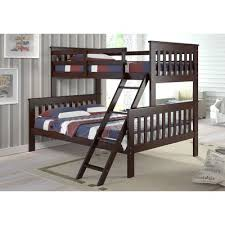 Donco Kids Twin Over Full Standard Bunk Bed  Reviews Wayfair - Donco bunk beds