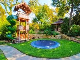 backyard pool landscaping ideas diy backyard playground ideas