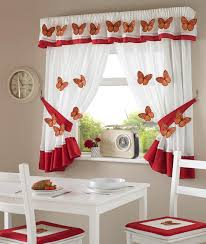 3d butterfly kitchen curtains u2013 curtains at home