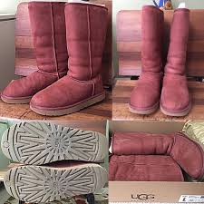 ugg s boots size 11 62 ugg boots ugg plum wine boots size 11