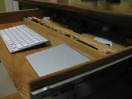 Diy Desk Drawer How To Turn A Desk Drawer Into A Keyboard Tray Space Storage