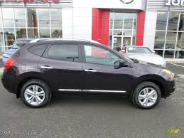 nissan rogue exterior black amethyst 2013 nissan rogue sv awd exterior photo 72240518