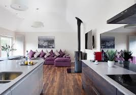 cuisine ouverte sur salon salon avec cuisine ouverte plans deconception 1001 conseils et ides
