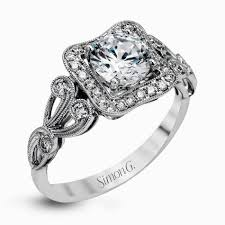 vintage design rings images Simon g design passion collection vintage engagement ring simon jpg