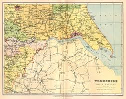 Map Of England And Wales Yorkshire