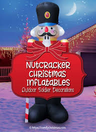 christmas inflatables outdoor soldier decorations outdoor christmas inflatables