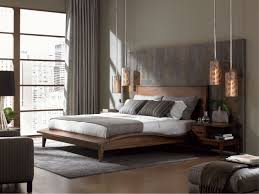 table lamps bedroom modern modern masculine bedroom ideas wood stained nigh stand table