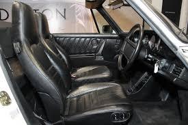 porsche factory 1988 porsche 911 cabriolet factory turbo look