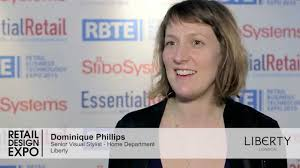 dominique phillips from liberty discusses retail design expo 2015