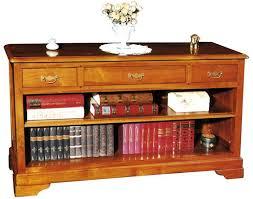 dos de canape dos de canapé 3 tiroirs et 1 niche en merisier massif collection