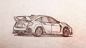 drew a quick sketch of the new type r honda