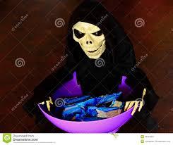 halloween trick treat candy bowl stock photo 46407060 megapixl