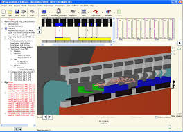 ss punch cnc turret punch press cad cam software working under