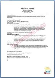 Physical Therapy Sample Resume by Respiratory Therapist Resume New Grad Resume Samples Pinterest