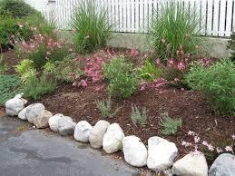 rocks for garden edging