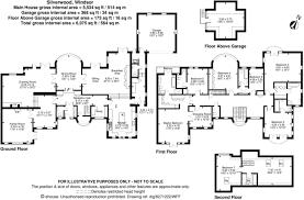 floor plan of windsor castle 7 bedroom detached house for sale in st leonards hill windsor