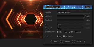 auto setup script soundvisible audio react templates