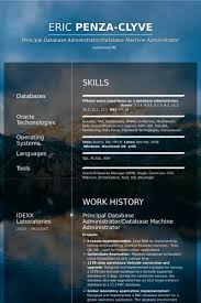 database administrator resume samples visualcv resume samples