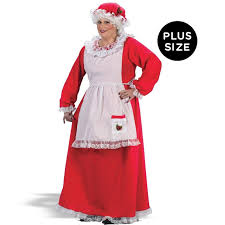 mrs claus costumes buy mrs claus plus costume