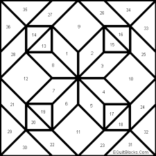 How To Make A Barn Quilt Amish Diamond In A Square Quilt Pattern All Kinds All Squared Up