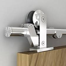Sliding Barn Door Latch by Easy Install Top Mount Barn Door Hardware Stainless Steel Sliding