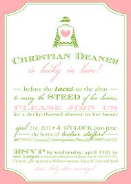 kentucky derby party invitations wording custom invitations