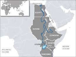 nile river on map nile states work to improve quantity quality of waters