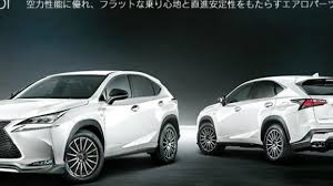 lexus truck nx lexus nx gains trd styling accessories in japan