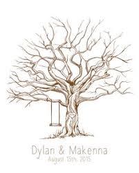 fingerprint guestbook tree template hledat googlem stammbaum