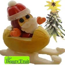 New Year Fruit Decorations by Garnishfoodblog Fruit Carving Arrangements And Food Garnishes
