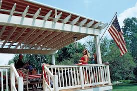 Pergola Awning Retractable by Chester County Backyards Milanese Remodeling Awnings Decks Patios