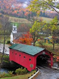 Vermont travel exchange images The covered bridge in the movie beetlejuice west arlington jpg