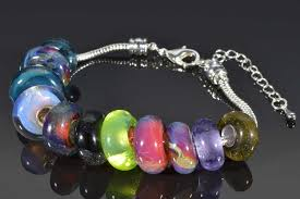 european style bracelet beads images Memorial glass beads using cremation ash jpg