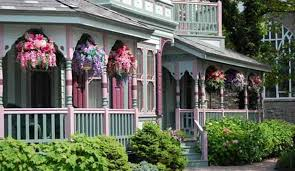 victorian home design with decorative front porch railing ideas