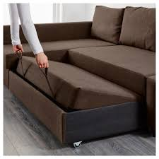 double bed sofa sleeper livingroom friheten sleeper sectional3 seat wstorage skiftebo dark
